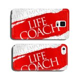 Life Coach word cloud, business concept cell phone cover case iPhone5