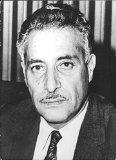 Vintage photo of Portrait of Abdul Rahman Pazhwak.